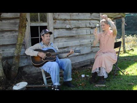 Pistol Packin' Mama, Hangman's Reel & Morphine - Matt Kinman & Abby the Spoon Lady Video