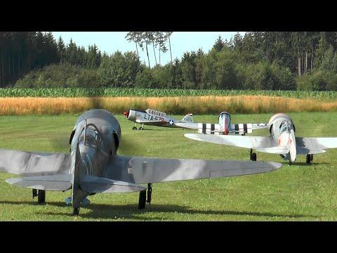 RC Scale Airplanes - FLYING HUNTERS Air Show