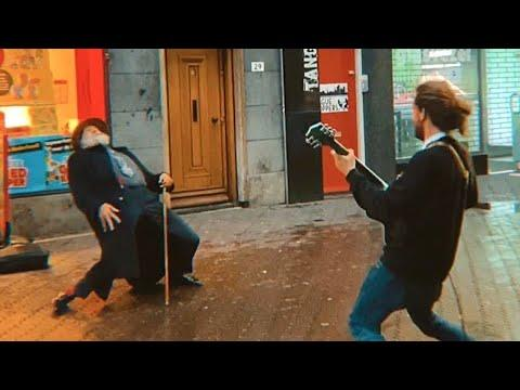 Amazing Dancer with Street Performer in The Hague, Netherlands Video