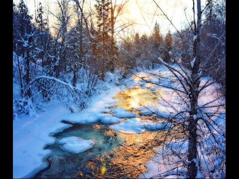 """Whiter Than Snow"" 1 hour of soothing, inspirational music  featuring winter scenes"