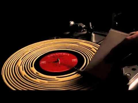 How One Guy Cleans His LP Record With Wood Glue