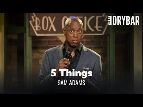 5 Things Every Man Needs To Know. Sam Adams #Video