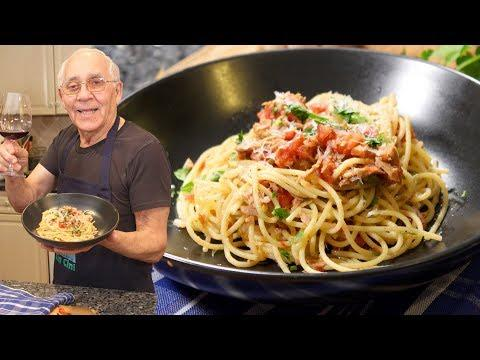 Spaghetti al Tonno Recipe (Spaghetti with Tuna)