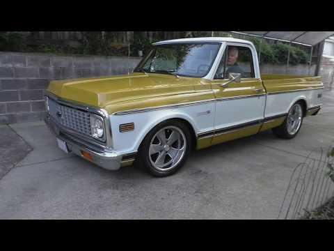 1972 Chevy C10 Short Bed 350 V8 TH350 Auto AC PS PB Resto-Mod