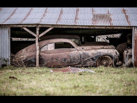 Sixty Abandoned Classic Cars Found In French Barn