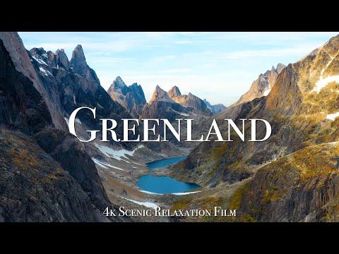 Greenland 4K - Scenic Relaxation Film With Calming Music #Video