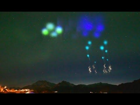 Mysterious Floating Lights Spotted In Norway. Your Daily Dose Of Internet