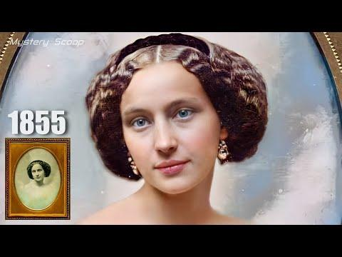 Daguerreotype Beauties From The 19th Century Brought To Life in Video