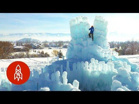 An Ice Castle Brings Magic Before Melting Away