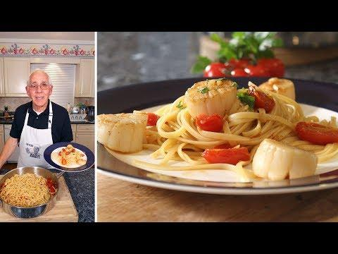 Linguine with Scallops Recipe