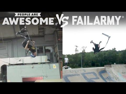 Extreme Sports Wins & Wipeouts Video | People Are Awesome Vs. FailArmy