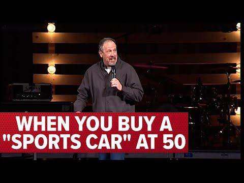 When You Buy a Sports Car at 50 -  Comedian Jeff Allen Video