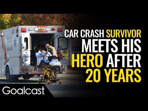 Health Care Hero And Car Crash Survivor Meet After 20 Years Video  | Marcus Engel Speech | Goalcast