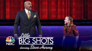Little Big Shots - Steve Tries Yodeling (Episode Highlight)