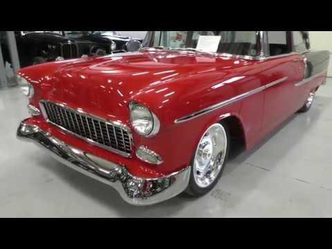 1955 Chevrolet 2dr Post Hot Rod CHRA Custom