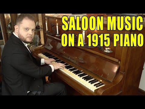 Top 10 Saloon Music on a 1915 Piano Video