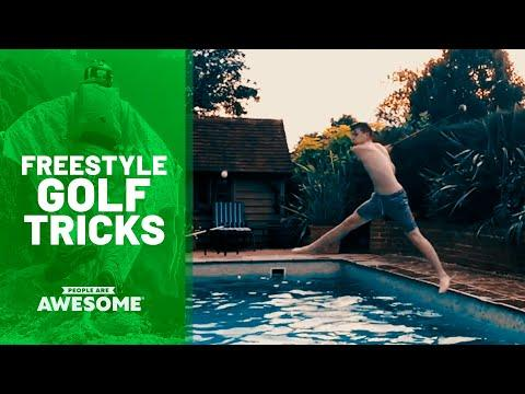 35 Surprising Golf Trick Shots Video