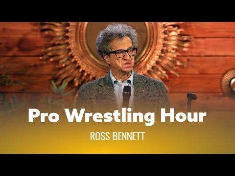 Pro Wrestling Hour With Grandma. Ross Bennett