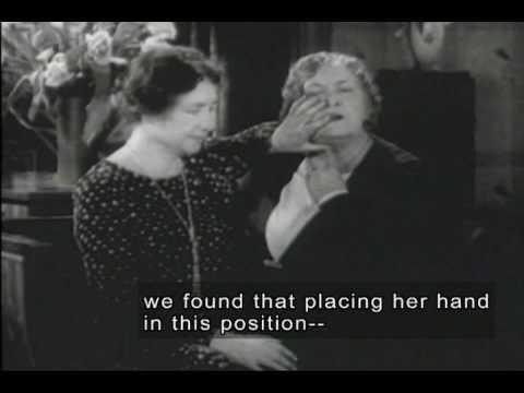 Helen Keller & Anne Sullivan (1928 Video Footage with Open Captions and Audio Description)