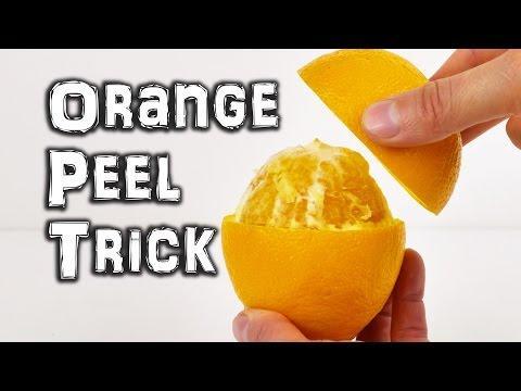 Orange Peeling Trick