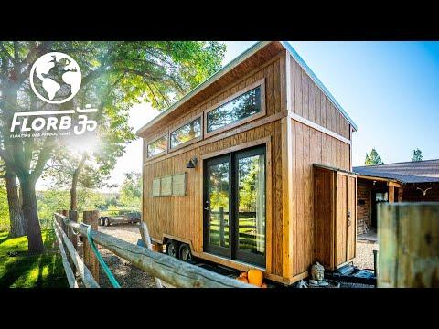 Young Man Builds Tiny House for Only $8,000 Video