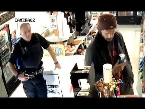 Stealing In Front Of A Cop. Your Daily Dose Of Internet