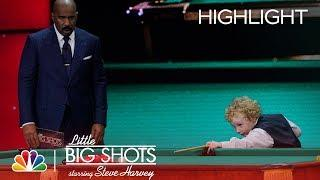 Little Big Shots - Little Irish Snooker Champ (Episode Highlight)
