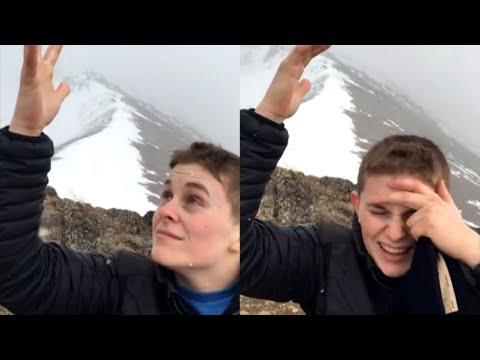 Mountain Creates Extreme Static Electricity #Video