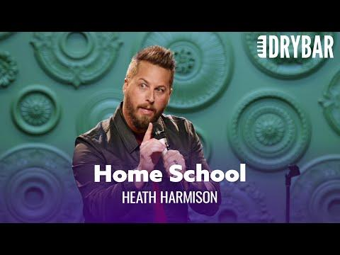 Homeschooling Was The Worst Part Of 2020 Video. Comedian Heath Harmison