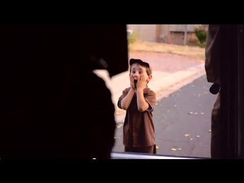 Spirited 4-Year-Old Becomes UPS Driver For A Day