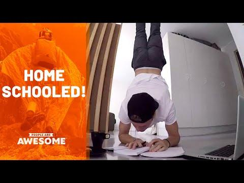 Tricks & Talents Around The House Video | People Are Awesome