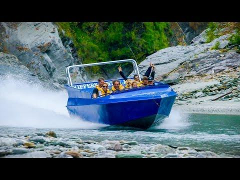 Jet Engine Strapped To Boat - Play On In New Zealand!