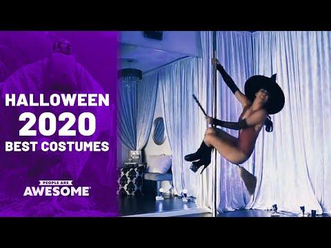 Tricks, Stunts, BMX & More in Costume for Halloween Video   People Are Awesome