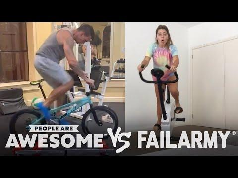 People Are Awesome vs. FailArmy | Biking, Hockey, Soccer & More
