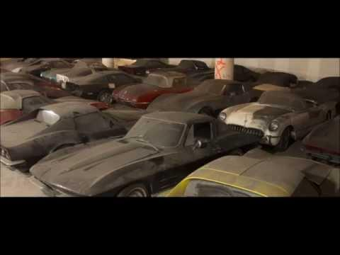 36 Corvettes found in underground building!