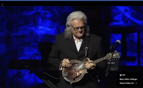 "Ricky Skaggs Plays ""Will the Cirlcle Be Unbroken"" on Bill Monroe's Mandolin"