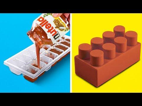 25 SIMPLE AND COOL COOKING LIFE HACKS ||  Kitchen Tricks, DIY Food Decor Ideas and Easy Recipes