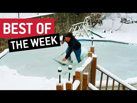 Best of the Week | Polar Plunge + Get Those Cables Out!