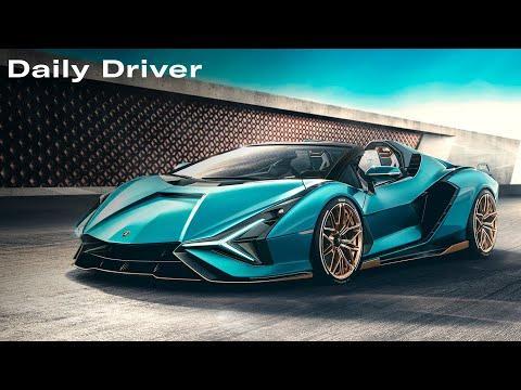 Lamborghini Sian Roadster, Omega Car, Hagerty Hot List - Daily Driver Video