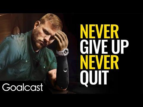 NEVER GIVE UP. NEVER QUIT VIDEO - TRAVIS MILLS