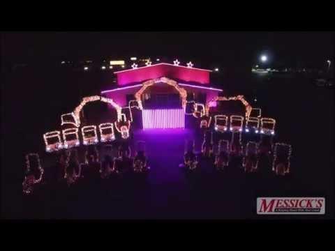 Messick's 2015 Christmas Light Show - Sauniks Carol Of The Bells Dubstep