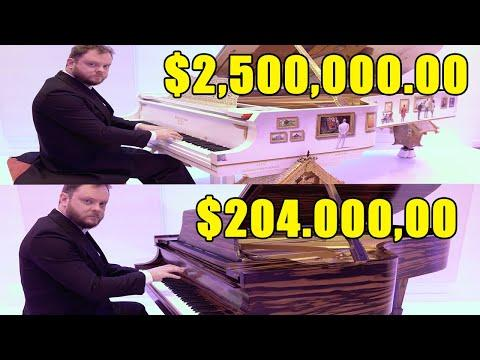 Can You Hear the Difference Between The Most Expensive Pianos of the World