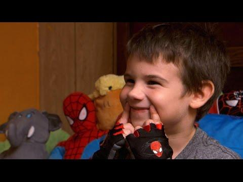 After losing parents, 6-year-old embarks on smile mission #Video