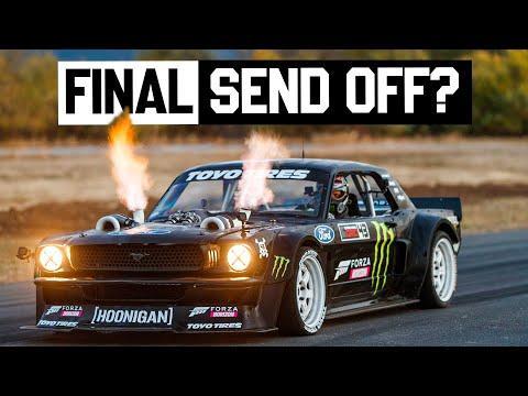 The Hoonicorn's Last Ride? #Video Ken Block's Final Drive in the 1400hp AWD Mustang Hoonicorn V2