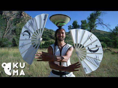 The Art of Folding Fans and Rice Hat Manipulation