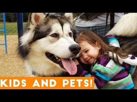 Most Amazing Kids and Animals Compilation 2018 | Funny Pet Videos