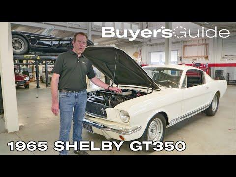 The 1965 Shelby GT350 saved the Mustang   Buyer's Guide   Ep. 302 #Video
