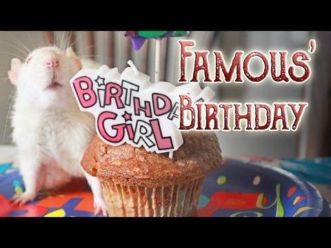 Famous' Birthday: A Short Film