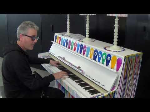 Boogie Woogie Concerto on Liberace's Public Piano