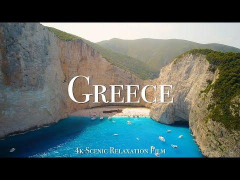 Greece 4K - Scenic Relaxation Film With Calming Music #Video